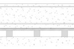 Schematische weergave CDM-MACHINE-FLOAT met elastomeren